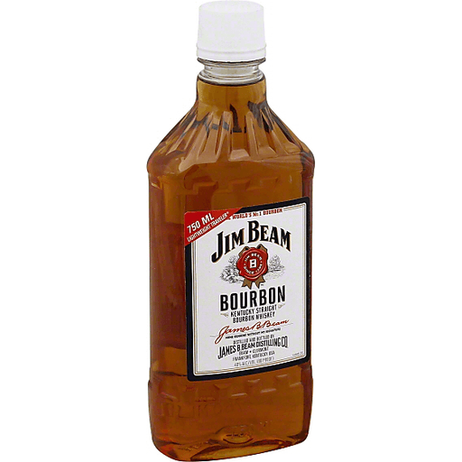 Jim Beam Whiskey, Kentucky Straight Bourbon, Lightweight Traveler
