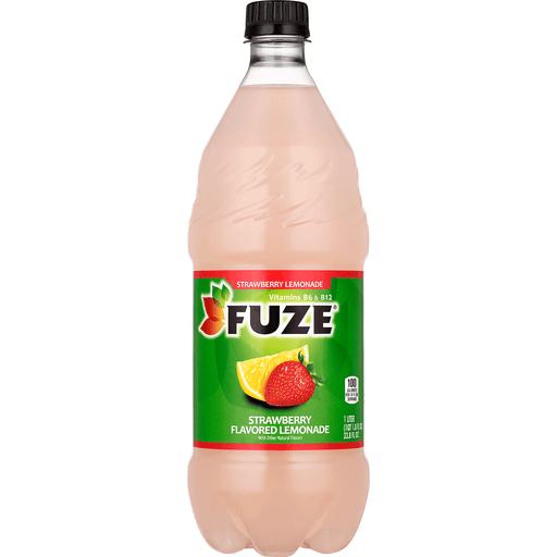 Fuze Iced Tea, Strawberry Lemonade