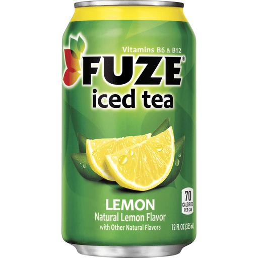 Fuze Iced Tea Lemon Can, 12 fl oz