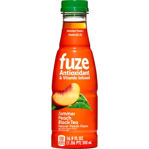 Fuze Peach Tea Bottle, 16.9 fl oz