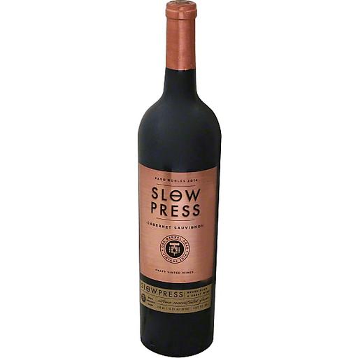 Slow Press Cabernet Sauvignon, Paso Robles, 2014