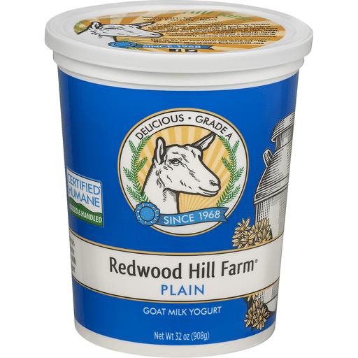 Redwood Hill Farm Goat Milk Yogurt Plain