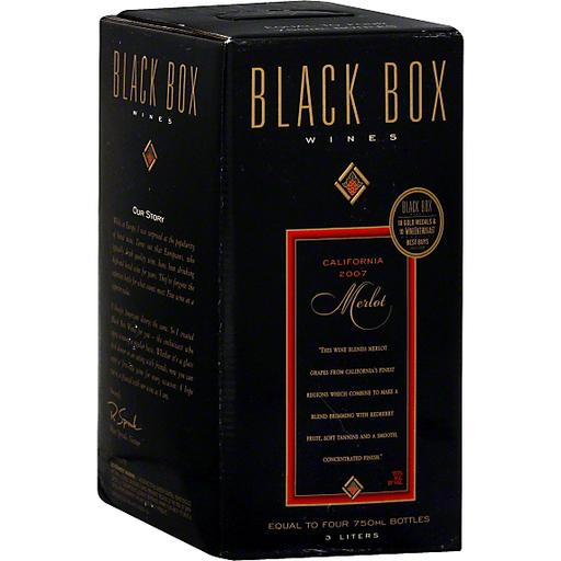 Black Box Merlot, California, 2007