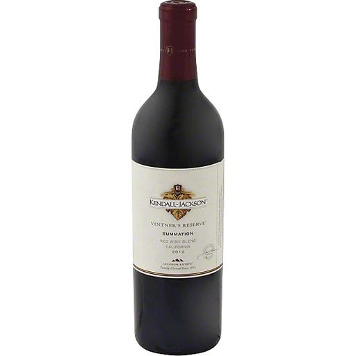 Kendall Jackson Vintner's Reserve Red Wine Blend, Summation, California, 2009