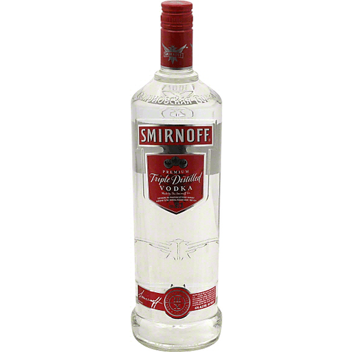 Smirnoff Vodka, Triple Distilled, Premium