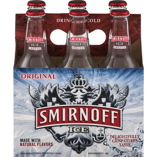 Smirnoff Ice Malt Beverage, Premium, Original