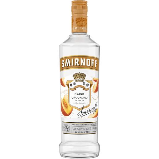 Smirnoff Peach Vodka Infused With Natural Flavors Premixed Martin S Super Markets