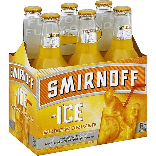 Smirnoff Ice Malt Beverage, Premium, Screwdriver