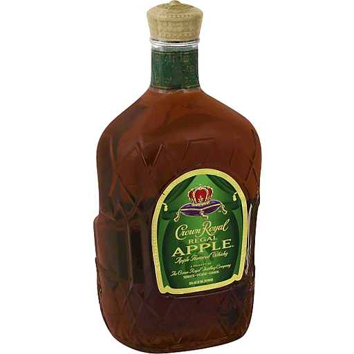Crown Royal Flavored Whisky Regal Apple - Bottle