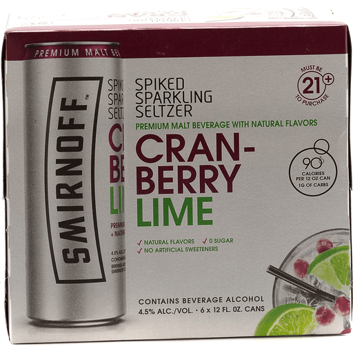 Smirnoff Spiked Cranberry Lime