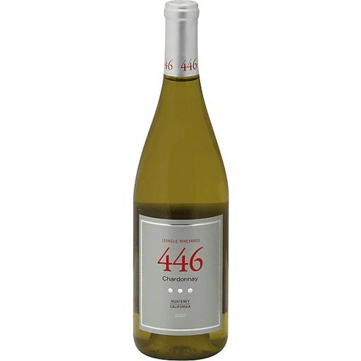 Noble Vines Chardonnay, 446, San Bernabe, Monterey, California, 2013