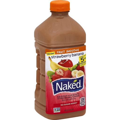 UPC 082592194640 - Naked Juice Smoothie Strawberry Banana