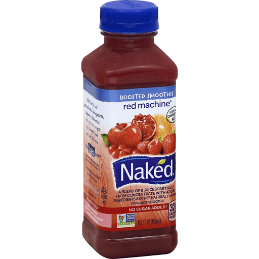 Naked 100% Juice Smoothie, Red Machine | Shop | BevMo