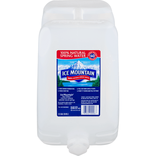 Ice Mountain 100% Natural Spring Water