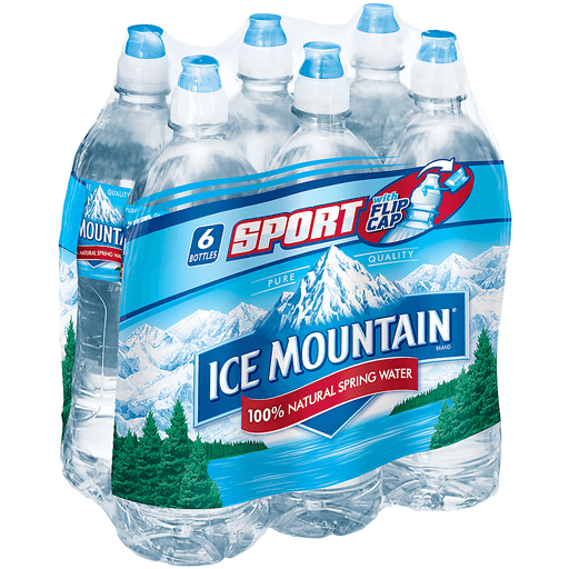Ice Mountain Water, 100% Natural Spring