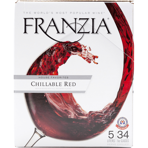 Franzia House Wine Favorites Chillable Red