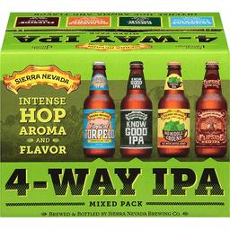 6cc47591 Sierra Nevada Beer, 4-Way IPA, Mixed Pack