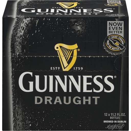 Guinness Beer, Draught, Stout