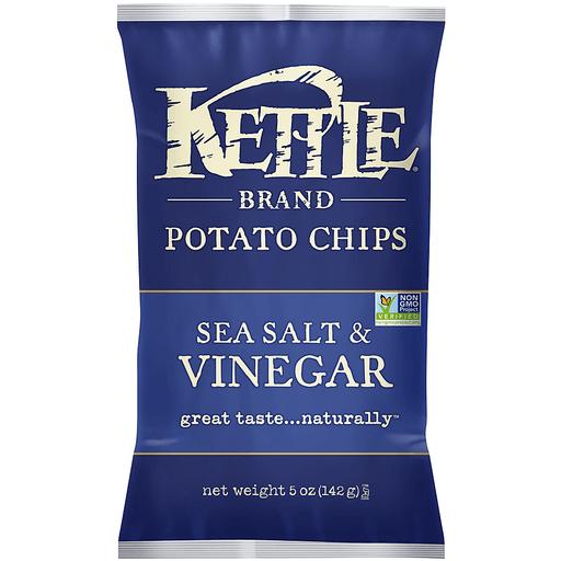 Kettle Potato Chips, Sea Salt & Vinegar