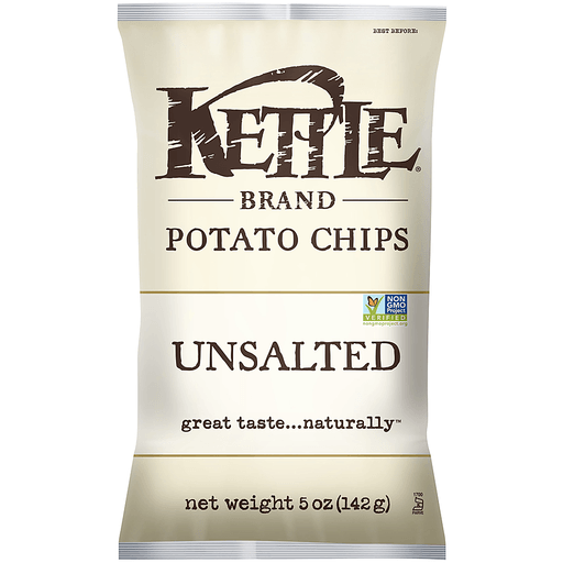 Kettle Potato Chips, Unsalted