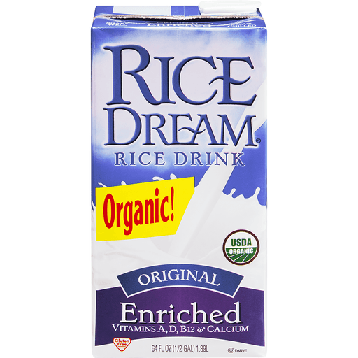 Rice Dream Rice Drink, Organic, Original Enriched, Value Size