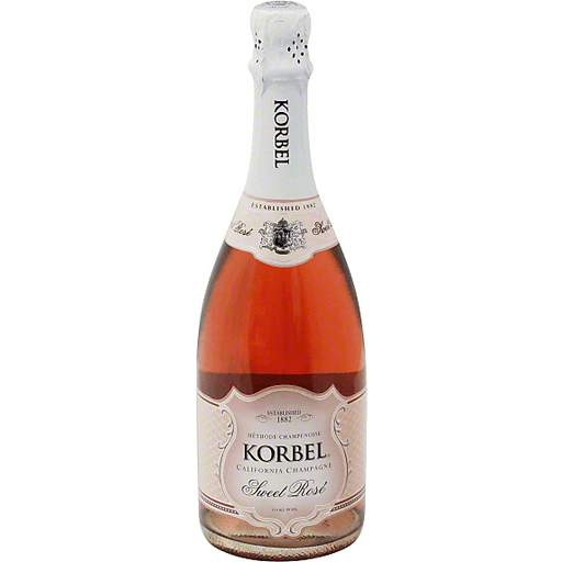 Korbel Sweet Rose, California Champagne