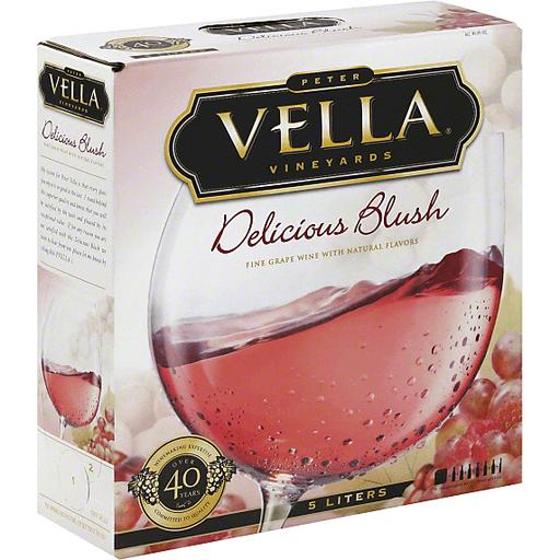 Peter Vella Wine, Delicious Blush