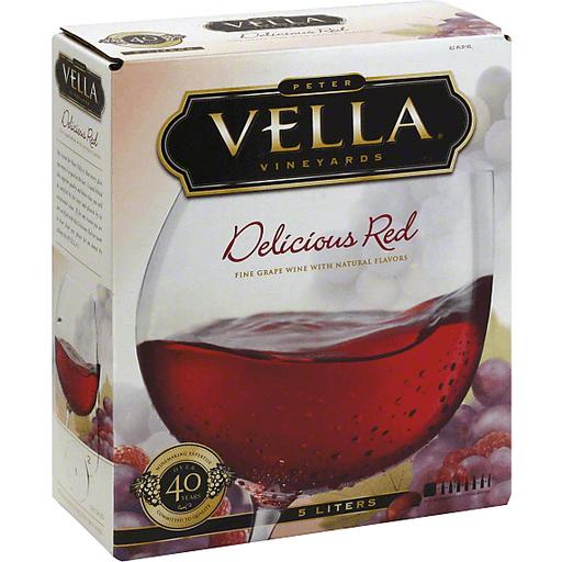 Peter Vella Grape Wine, Delicious Red