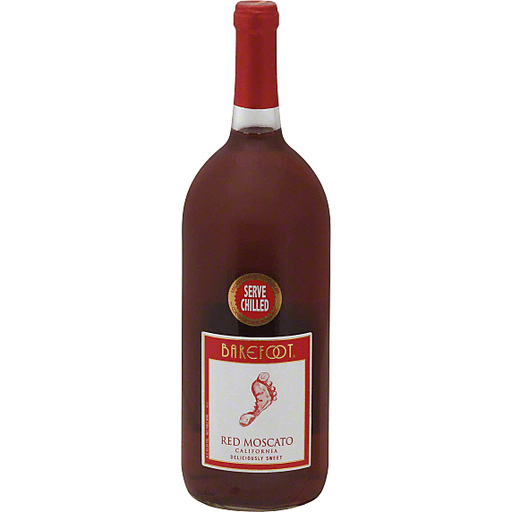 Barefoot Moscato, Red, California