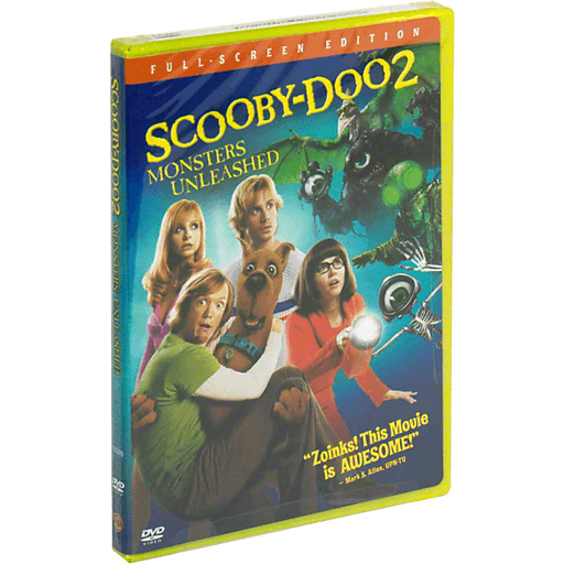 Warner Bros Dvd Scooby Doo 2 Monsters Unleashed Full Screen Edition Shop St Mary S Galaxy