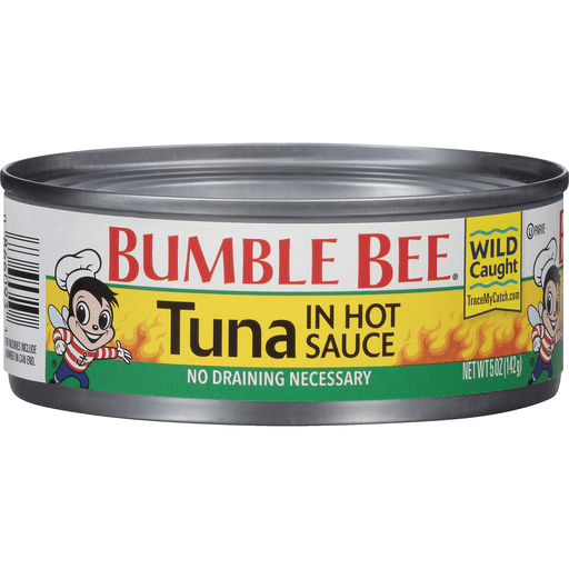 Bumble Bee Tuna in Hot Sauce | Shop | Uncle Giuseppe's