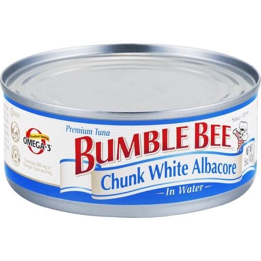 Bumble Bee Tuna, Chunk White Albacore, in Water