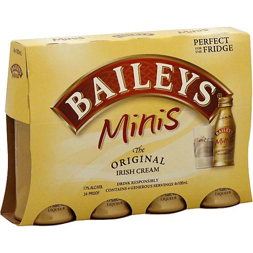 Baileys Liqueur, Irish Cream, The Original, Minis