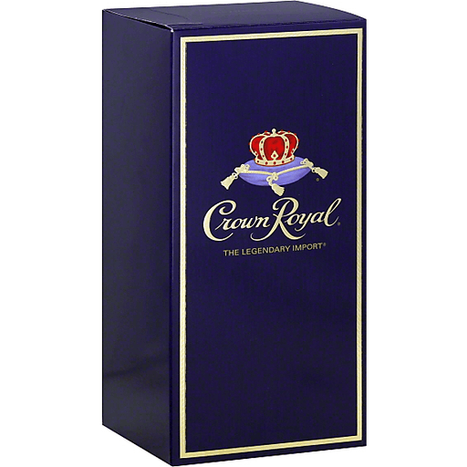 Crown Royal Whisky, Blended Canadian, Fine De Luxe
