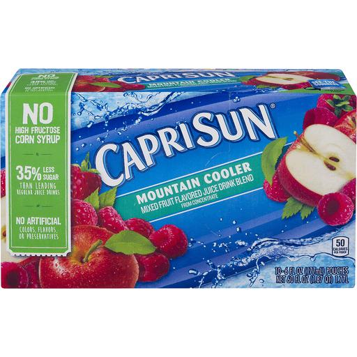 Capri Sun Juice Drink, Mountain Cooler
