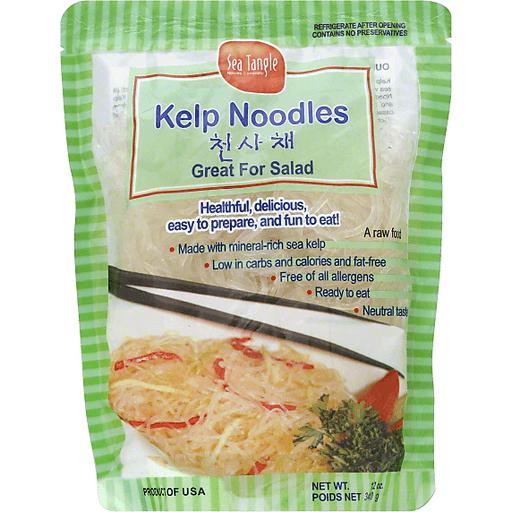 Sea Tangle Noodle Kelp Noodles Asian Harvest Market
