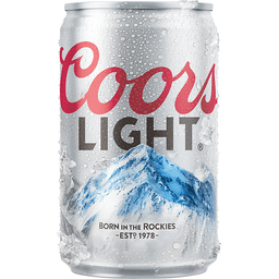 Coors Light Beer Can