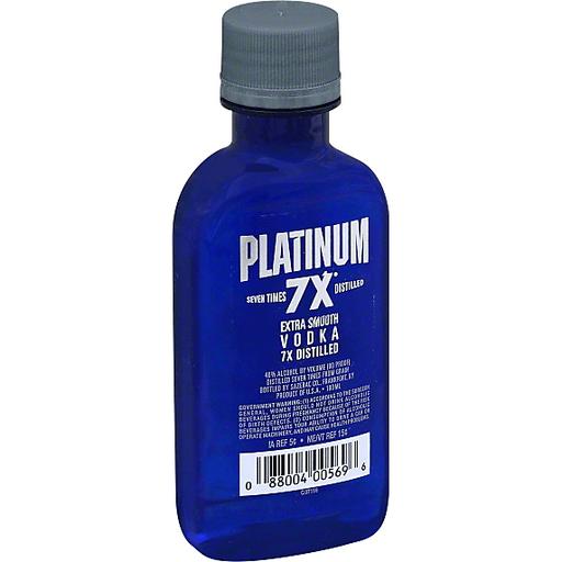 Platinum Vodka, Extra Smooth