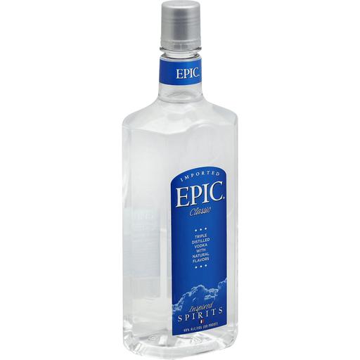 Epic Vodka, Triple Distilled, Classic