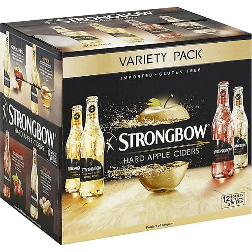 Strongbow® Apple Hard Cider Variety Pack 12-11.2 fl. oz. Bottles