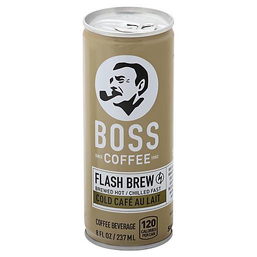 Boss Cold Cafe Au Lait Coffee