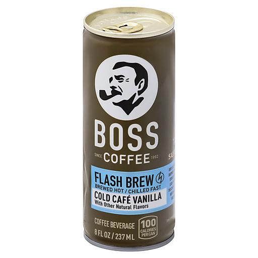 Boss Cold Cafe Vanilla Coffee