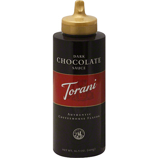 Torani Chocolate Sauce, Dark