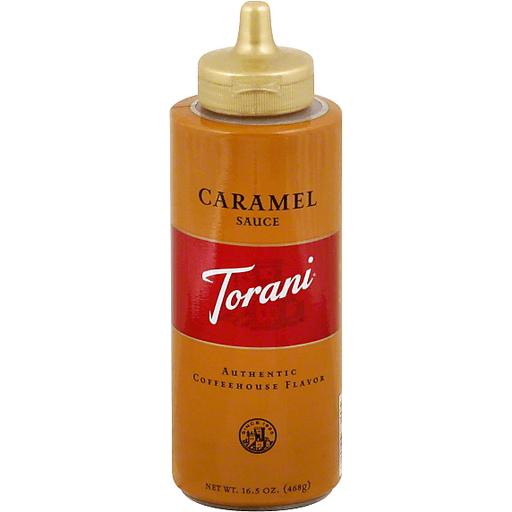 Torani Sauce, Caramel