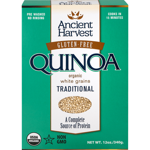 Ancient Harvest Quinoa, Traditional, Organic, White Grains