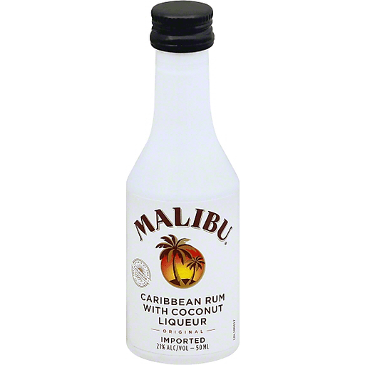 Malibu Rum Caribbean Original 50mL Bottle