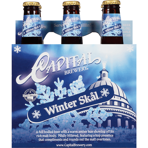 Capital Brewery® Seasonal Beer 6-12 fl. oz. Bottles