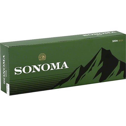 Sonoma cigarettes date code