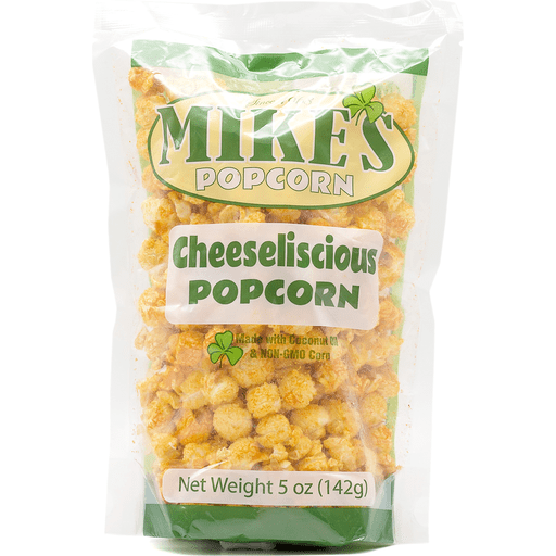 Mike's Cheeseliscious Popcorn