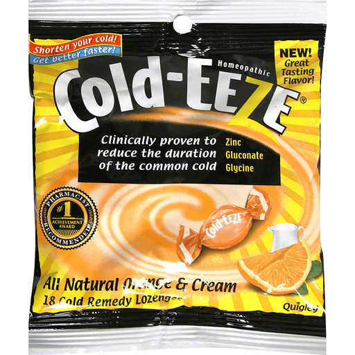 Cold Eeze Cold Remedy Lozenges, All